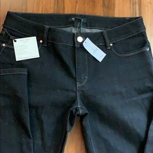 NWT whit house Black Market boot leg jeans